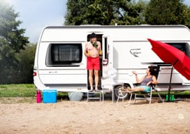 Wohnwagen, Wohnmobile & Faltcaravan