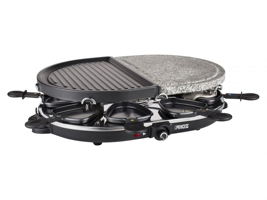 Princess Raclette 8 Oval Steingrill