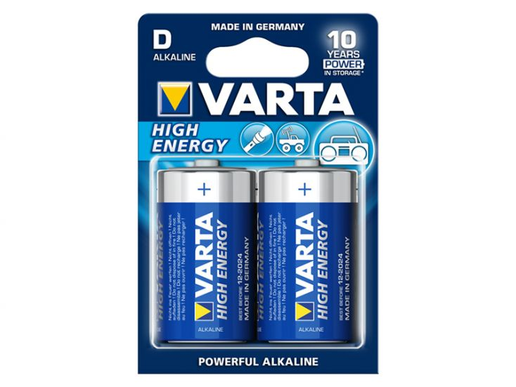 Varta 2x Longlife Power D Batterien