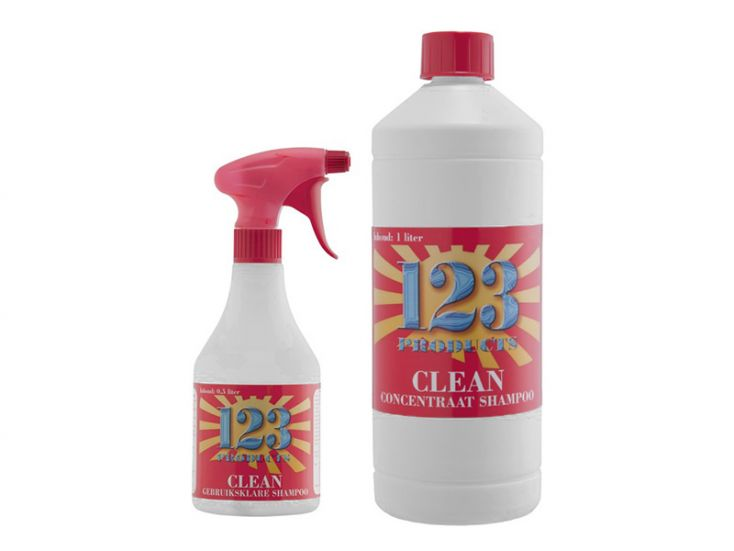 123 Products Clean Shampoo Paket