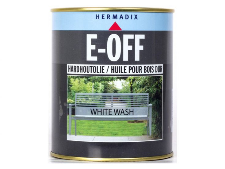 Hermadix E-off white Wash Hartholzöl