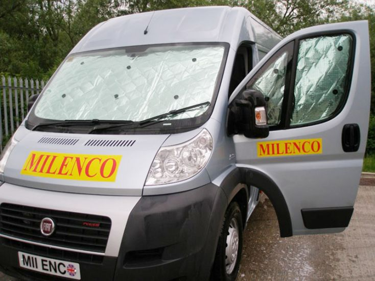 Milenco universelle Fensterinsolation innen