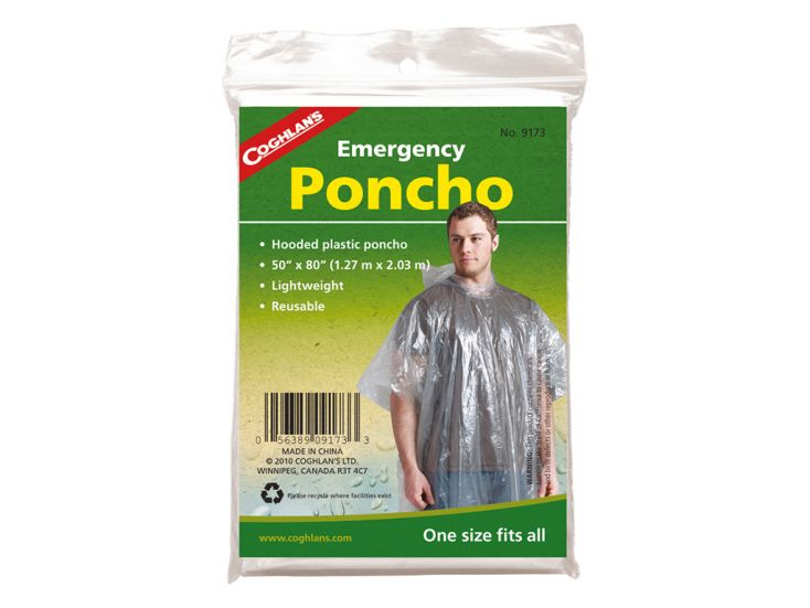 Coghlan's transparenter Notfall Poncho