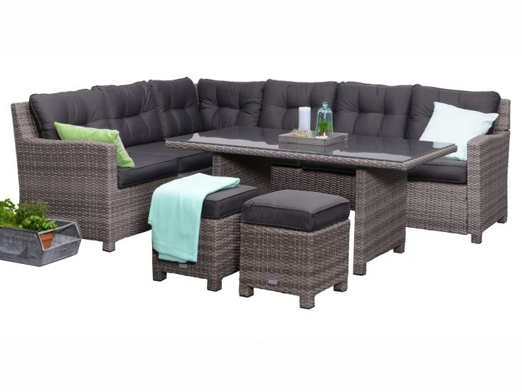 Outdoor Feelings Blue Dining Loungeset