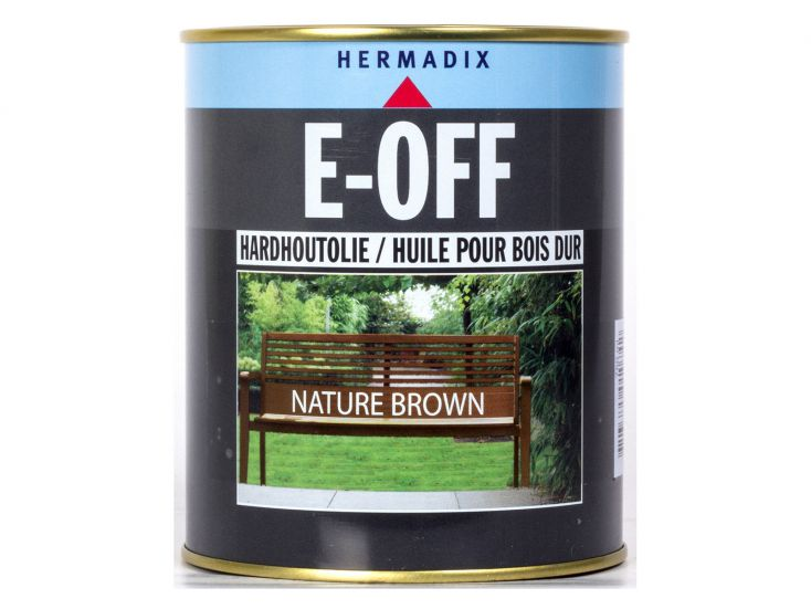 Hermadix E-off Nature Brown Hartholzöl
