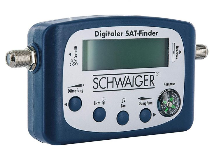 Schwaiger digitaler Satellitenfinder