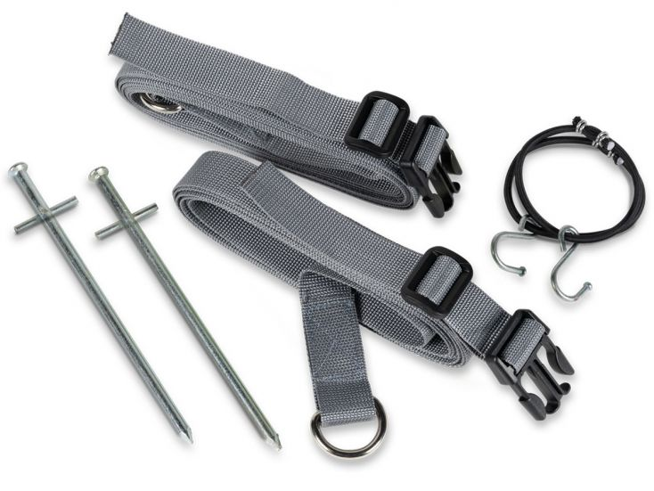 Kampa Storm Tie Down Kit Grey Sturmband-Set