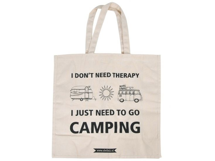 Obelink I don't need therapy Canvas Tasche