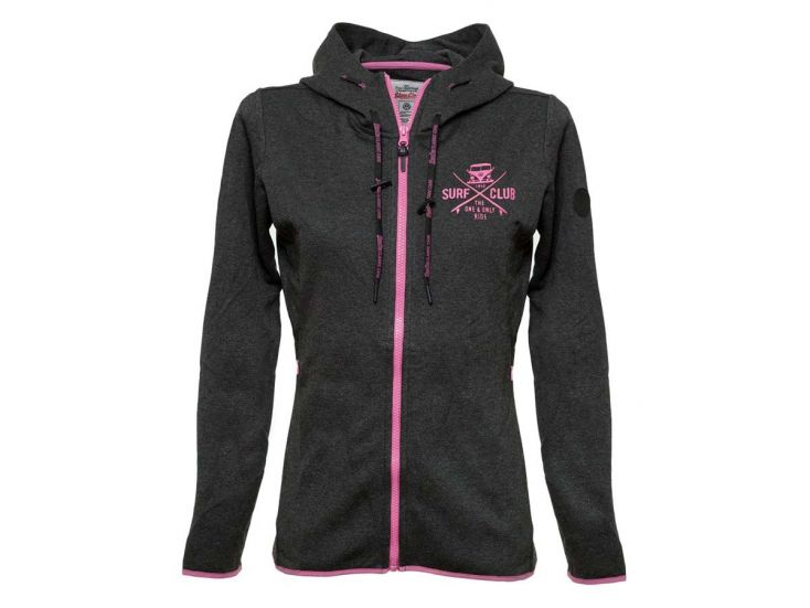 Van One Surf Club Interlock Jacke
