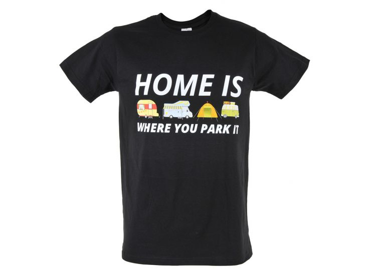 Obelink Home is where you park it T-shirt