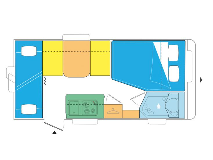 Caravelair Antares Style 476 Family Wohnwagen