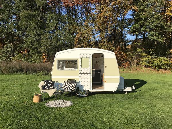 Ein Blick in den Wohnwagen von Jolien