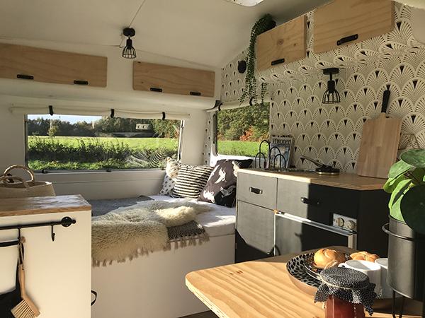 Renovieren Sprite Wohnwagen